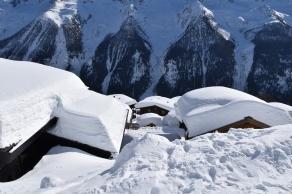 Schneemengen