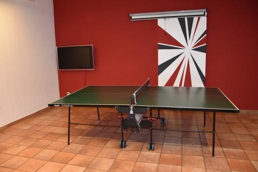 Pingpong-Tisch im Haupthaus